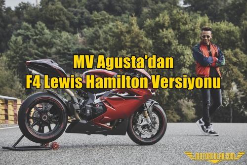 MV Agusta'dan F4 Lewis Hamilton Versiyonu