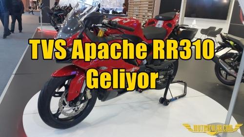 TVS Apache RR310 Geliyor