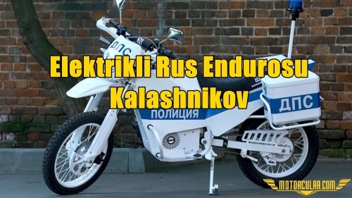 Elektrikli Rus Endurosu Kalashnikov