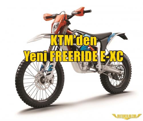 KTM'den Yeni FREERIDE E-XC