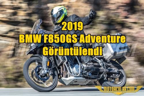 2019 BMW F850GS Adventure Görüntülendi