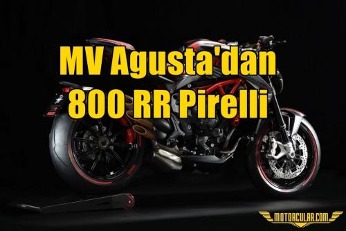 MV Agusta'dan 800 RR Pirelli Versiyonu