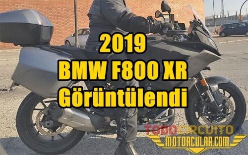 2019 BMW F800 XR Görüntülendi
