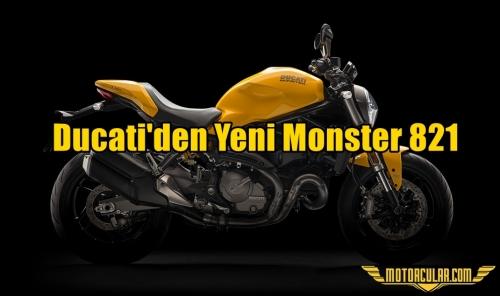 Ducati'den Yeni Monster 821