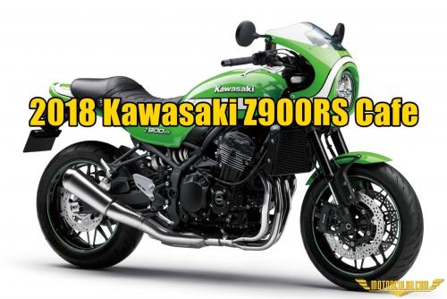 Kawasaki Z900RS'in Yeni Cafe Racér Versiyonu