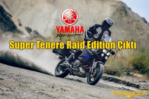 Yamaha XT1200ZE Super Tenere Raid Edition Çıktı