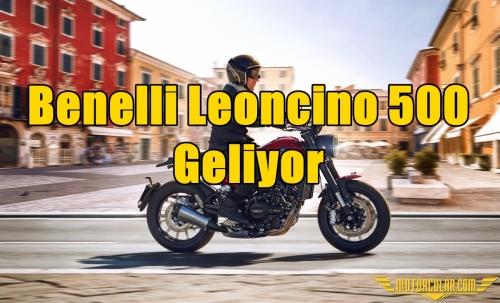 Benelli Leoncino 500 Geliyor