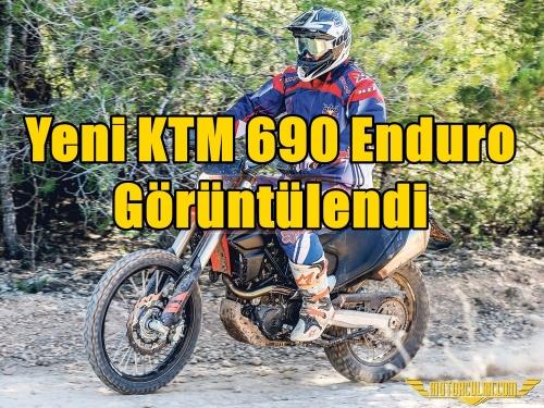 Yeni KTM 690 Enduro Görüntülendi