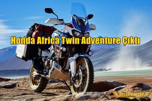 Honda Africa Twin Adventure Çıktı