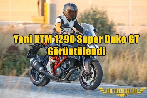 Yeni KTM 1290 Super Duke GT Görüntülendi