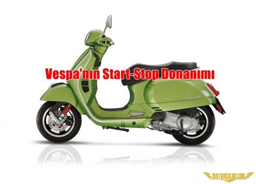 Vespa'nın Start-Stop Donanımı