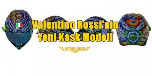 Valentino Rossi'nin Yeni Kask Modeli
