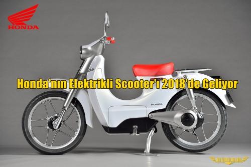 Honda'nın Elektrikli Scooter'ı 2018'de Geliyor