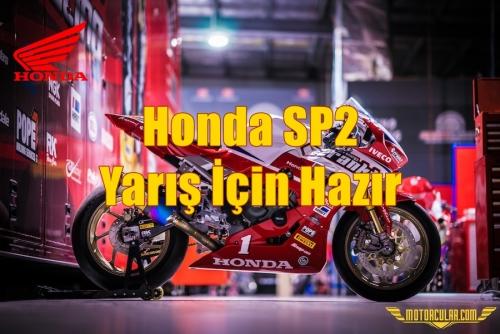 Honda SP2 Yarış İçin Hazır
