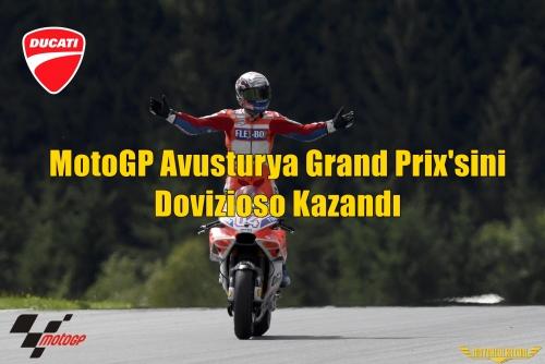 MotoGP Avusturya Grand Prix'sini Dovizioso Kazandı