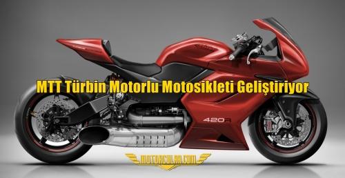 MTT Türbin Motorlu Motosikleti Geliştiriyor