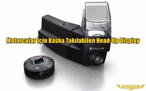 Motorcular İçin Kaska Takılabilen Head-Up Display