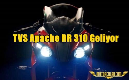 TVS Apache RR 310 Geliyor