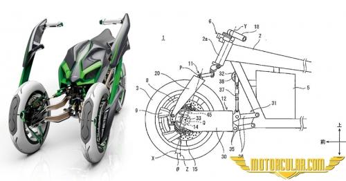 Kawasaki'den Yeni Patent