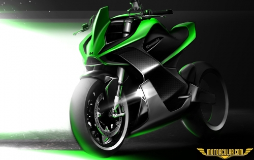 Kawasaki'nin Elektrikli Motosiklet Patentleri