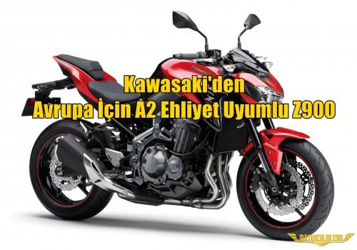 Kawasaki'den Avrupa İçin A2 Ehliyet Uyumlu Z900