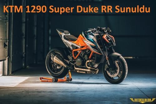 Sınırlı Sayıda Üretilen KTM 1290 Super Duke RR