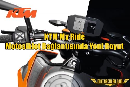 KTM My Ride: Motosiklet Bağlantısında Yeni Boyut