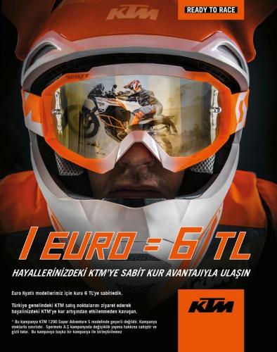 KTM Ağustos Sabit Kur Kampanyası