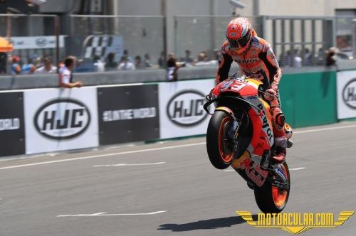 Marquez Le Mans MotoGP'yi Kazandı