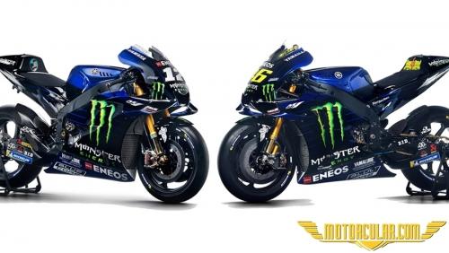 Monster Energy Yamaha'ya Sponsor Oldu