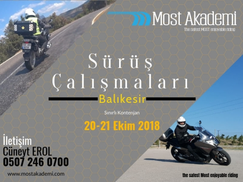 Most-Balıkesir 20-21 Ekim 2018