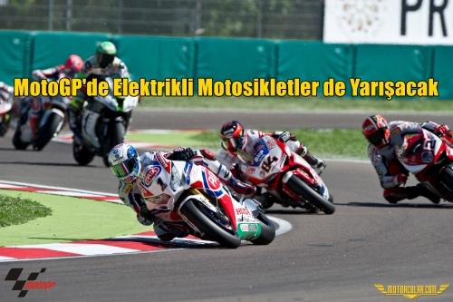 MotoGP'de Elektrikli Motosikletler de Yarışacak