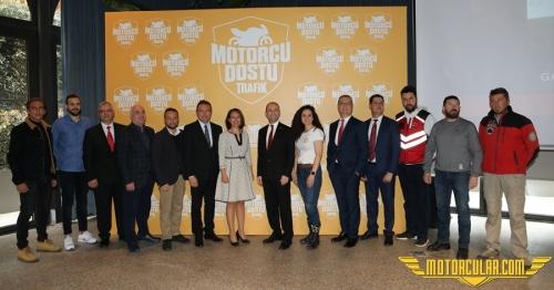 Motorcu Dostu Trafik Projesinin İkinci Etabı Başlıyor