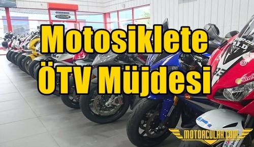 Motosiklete ÖTV Müjdesi