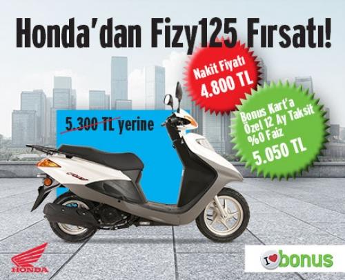 Honda'dan Fizy125 Fırsatı!