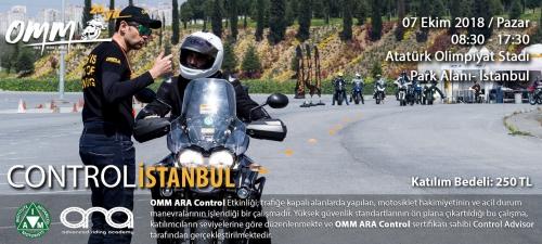 OMM Control İstanbul 07 Ekim 2018