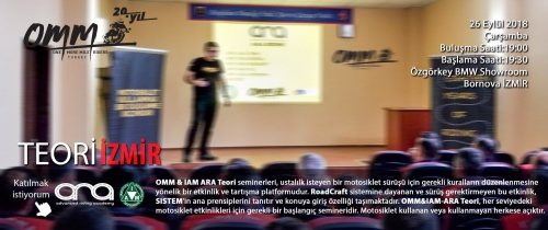 OMM Teori İzmir 26 Eylül 2018