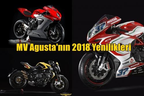 MV Agusta'nın 2018 Yenilikleri
