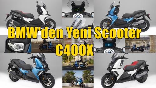 BMW'den Yeni Scooter C400X