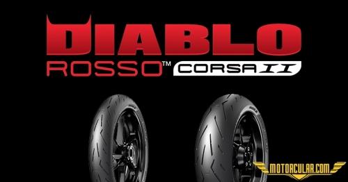 Pirelli Diablo Corsa II Testlerde Birinci Oldu