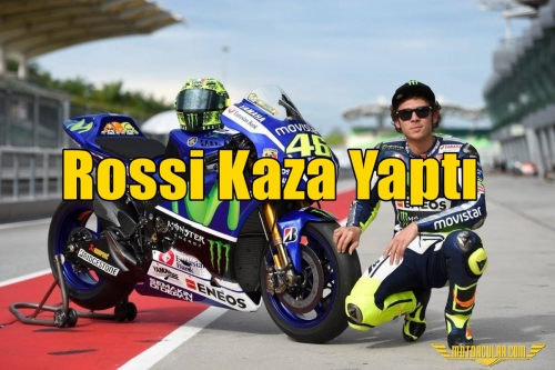 Rossi Kaza Yaptı