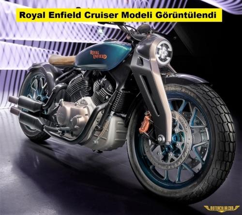 Yeni Royal Enfield Cruiser Modeli Görüntülendi
