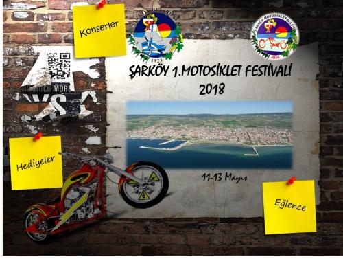 Şarköy Motosiklet Festivali 11-13 Mayıs 2018