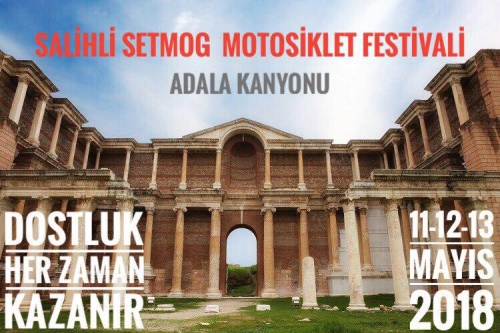 4.Salihli Setmog Motosiklet Festivali