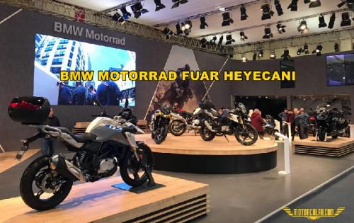 BMW Motorrad Fuar Heyecanı