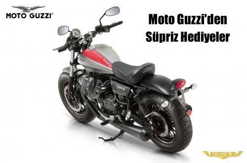 Moto Guzzi'den Süpriz Hediyeler
