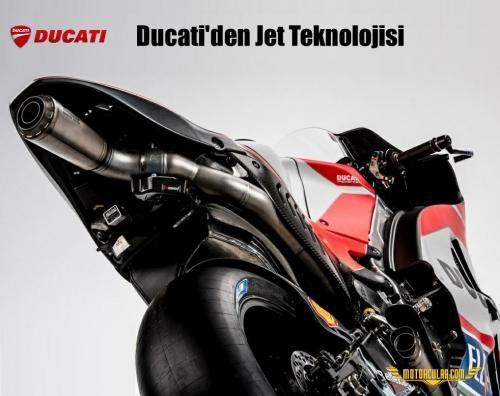 Ducati'den Jet Teknolojisi