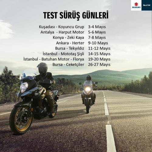 Suzuki Test Sürüş Günleri Başlıyor