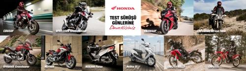 Honda Test Sürüş Günleri Başlıyor! (Bursa 6-7 Mayıs 2017)