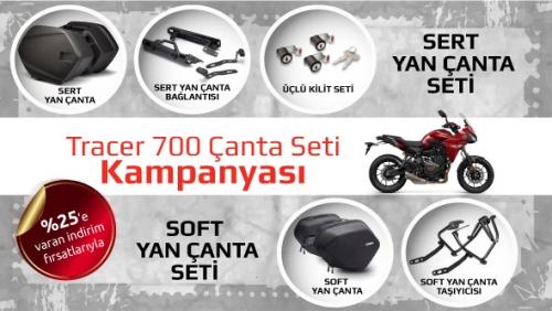 Yamaha Tracer 700 Çanta Seti Kampanyası